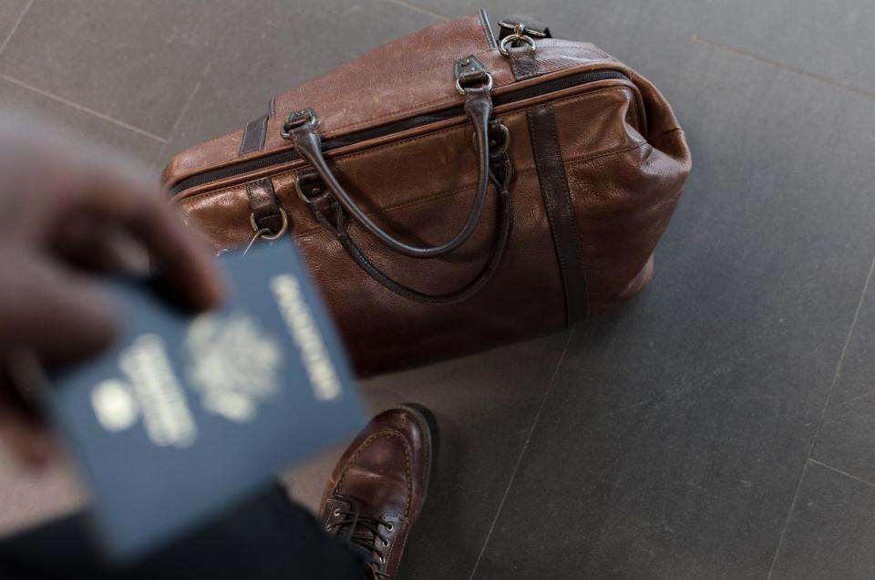 Koffer reizen